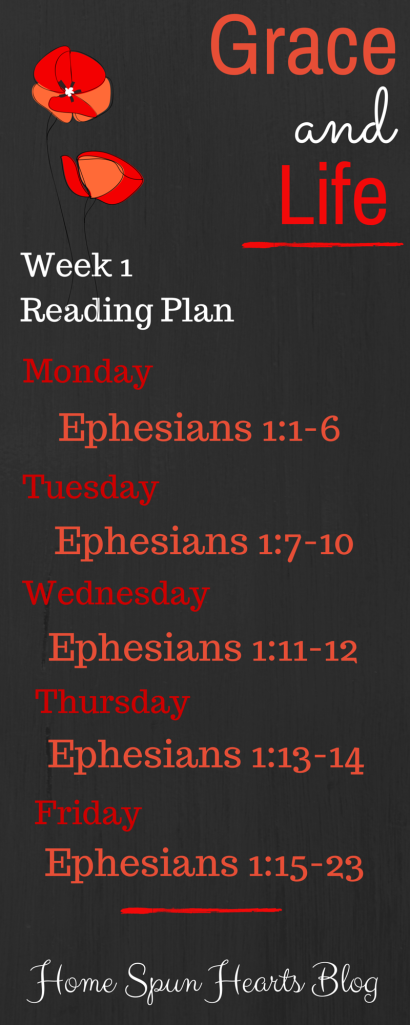 Reading Plan Week 1