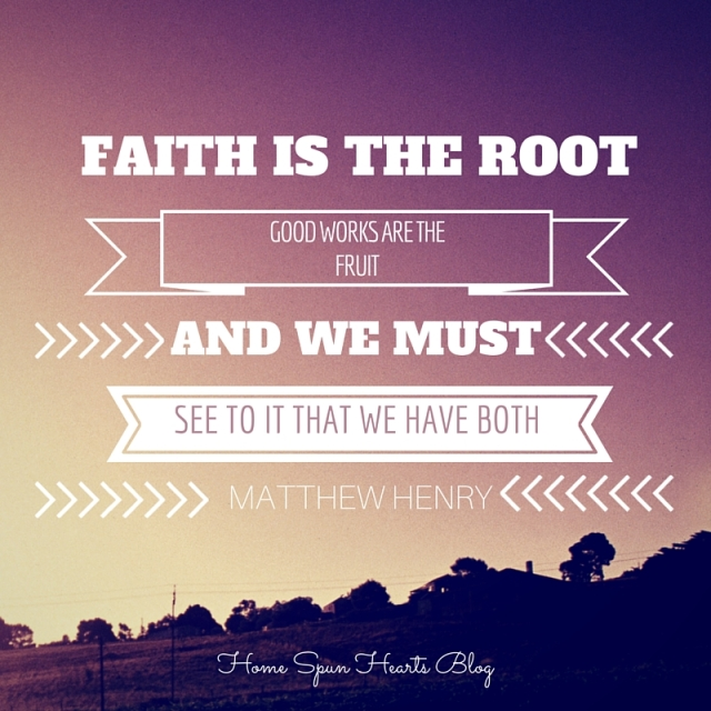 Faith is the root
