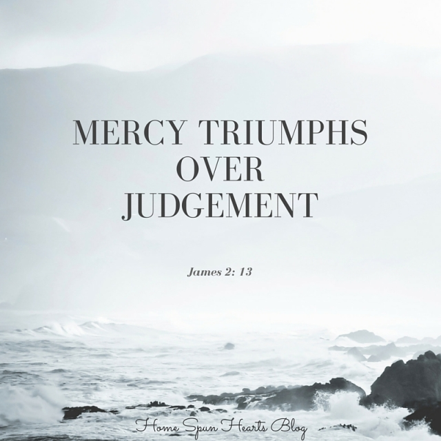 mercy triumphsoverjudgement